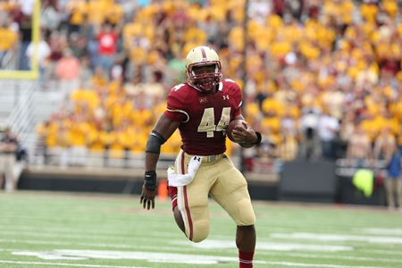 Boston College's Andre Williams is a finalist for the Walter Camp Player of the Year award (courtesy of BC Athletic Media Relations).